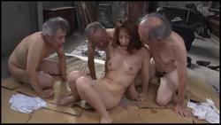 【グローリークエスト】老働者に輪○され性奴○と化す巨乳未亡人 #020