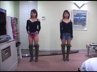 【ツバメの巣】素人女子が私服で生パンツ見せてくれた。それをじっくりガン見する。 #053