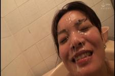 玲さん32歳のフェラテクに暴発顔射