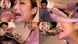 【生き物】神納花さんがイワナを生きたまま串焼きにして食べる!【食事】