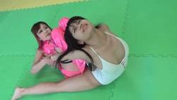 Gachinama Girls Fight VOL.4 Natsuki VS Hibird Rina