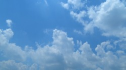 [Video material] Sky and clouds Time Lapse 01